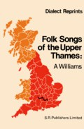 Folk-Songs of the Upper Thames