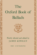 James Kinsley: The Oxford Book of Ballads