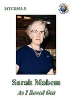 Sarah Makem: As I Roved Out (Musical Taditions (MTCD353-5)