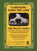 The Willett Family: A-Swinging Down the Lane (Forest Tracks FT2CD KS1)