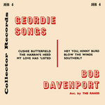 Bob Davenport: Geordie Songs (Collector JEB4)