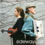 Helena Torpy and Steve Turner: Sideways Air (Sargasso Sounds EELCD04)