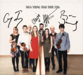 TMSA Young Trad Tour 2016 (TMSA TMSA16), signed at the Young Scots Trad Awards Winner Tour in Syke, Germany, on February 24, 2018
